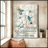 Hummingbird Surrounded By Your Glory I Can Only Imagine Canvas 0.75in Framed