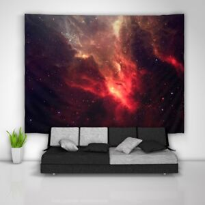 Galaxy Stars Tapestry Art Wall Hanging Sofa Table Bed Cover Poster