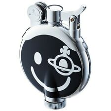Brand-New Vivienne Westwood  Oil ORB Lighter Black Smily  with box