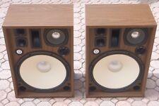 """EX Vintage 1976 Pair Kenwood KL-888D 5-Way, 6 Driver Floor Speakers 16"""" woofers"""