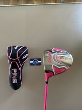 Golf Driver LH Ping G20 10.5 Pink Limited Edition Bubba Watson Regular