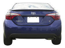 #540 PRIMERED Factory Style Lip SPOILER fits the 2014 - 2017 TOYOTA COROLLA