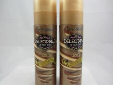 DELECTABLE 4 IN 1 AFTER TANNING TAN EXTENDER MOISTURIZER LOTION - 2 PACK