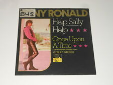 "Tony Ronald - 7"" Single - Help Sally Help - IN GERMAN - Ariola 10 729 AT"