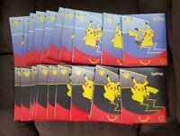 Pokemon McDonalds 2021 25th Anniversary Set Happy Meal Packs, 20 available