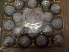 Silver and White Wedding Ferrero Rocher 24 pieces 300g chocolate coated nuts