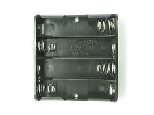 4xAA Battery Holder with 9V-Style Snap Connectors - 6V - Philmore BH341