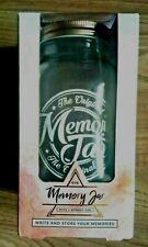 MEMORY JAR (ORIGINAL}🍯 WRITE 📝STORE YOUR MEMORIES ON 1 PAD OF 100 NOTES