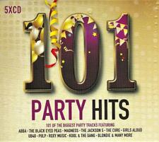 101 PARTY HITS - VARIOUS ARTISTS (NEW SEALED 5CD)