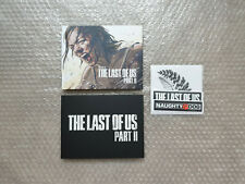 ARTBOOK STICKERS LITHOGRAPH from The Last of Us Part II Collector's Edition NEW