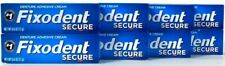 8 Count Fixodent 0.6 Oz Secure Denture Adhesive Cream Use Once Lasts All Day
