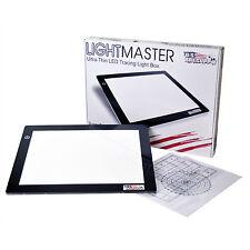 "Lightmaster 9"" x 12"" (A4) Light Box 5V Ultra-Thin Profile w/ USB Power Adapter"