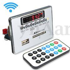 Wireless Bluetooth Car MP3 WMA WAV Decoder Board Audio Module USB SD FM Radio