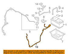 PORSCHE OEM 15-17 Macan-Battery Cable 95B971225C