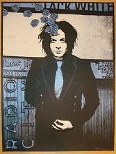 Jack White Stripes Poster 2012 Radio City Music Hall NY N2 S/N #/333 Rob Jones
