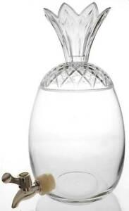 Godinger Pineapple Collection Beverage Dispenser & Lid 11702196