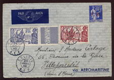FRANCE AFRICA CONGO 1940 COVER..EXPO+FM..SUPERB DOLISIE