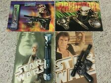 ICONS ORIGINAL Collectible Promo Postcards Predator Star Wars Terminator Set 4
