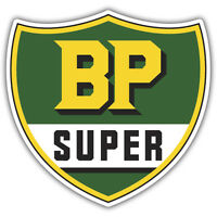 BP SUPER STICKER vintage reproduction decal retro 250mm x 250mm