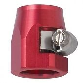 Fragola 280006 -6AN E-Z Clamp Hose End Red for Stainless Steel Hose & Nylon Hose