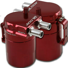 ADD W1 RED Baffled Universal Aluminum Oil Catch Tank Can Reservoir Tank Ver.1