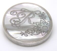 Replay Jewellery Brooch Mother of Pearl RMS091H Authentic New RRP 50 GBP