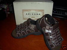 NIB Arizona Lil Parker Brown Sandals Slip-on Velcro 7M