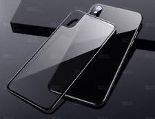 iPhone X Panzerfolie Rückseite Schutz Hinten Echtglas Tempered Glas Schutzglas