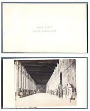 Van Lint, Italie, Pise Le Camposanto Monumentale CDV vintage albumen,  Tirage
