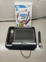 Wii Nintendo UDraw Studio Painting Game with Tablet Black TESTED