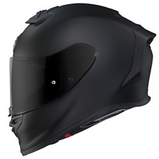 New Scorpion EXO R1 Air Full Face Motorcycle Helmet Matte Flat Black