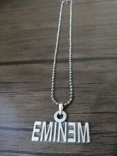 Eminem  Necklace 925 silver Plated