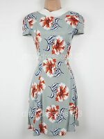 BNWT Definitions Floral Print Fit and Flare Dress Size 12 RRP £52