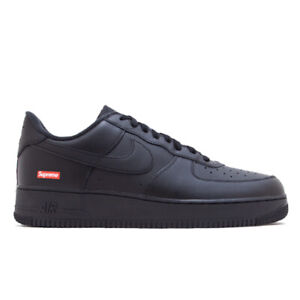 Nike Air Force 1 Low x Supreme Box Logo - Black - Size 11 - IN HAND SHIPS TODAY!