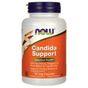 Now Foods Candida Support 90 Veg Capsules GIT Health.