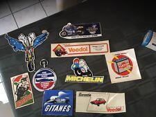 Lot Auto-collant ,automobile ,moto ,24 H Du Mans Et Divers