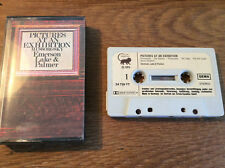 Emerson Lake & Palmer - Pictures At An Exhibition [MC] TAPE  Manticore 1973