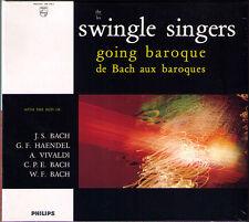 SWINGLE SINGERS: GOING BAROQUE Bach Handel Vivaldi Badinerie Fugue Giga Largo CD