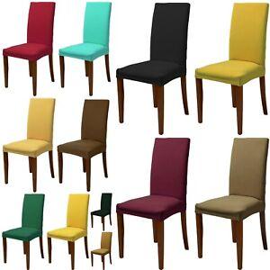 6 COPRISEDIA vesti sedia rivestisedia elasticizzato UNIVERSALE 15 colori
