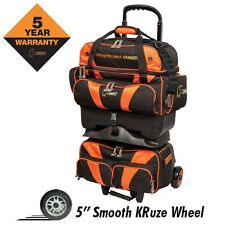 Hammer Premium 4 Ball Roller BLACK/ORANGE Bowling Bag