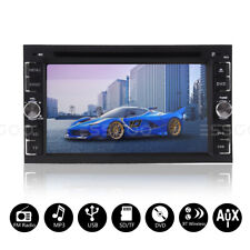 """6.2"""" In-Dash Car Radio Stereo Dvd Cd Player Bluetooth Audio Touch Screen 2 Din"""