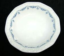 Rosenthal Porzellan Maria weiß Rosenkante blau Dessertschale Schale