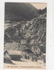 Gotthardbahn Maienreussbruecken Wassen Switzerland Vintage Postcard 467b
