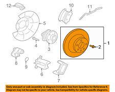VOLVO OEM 10-17 XC60 Rear Brake-Rotor 31471033