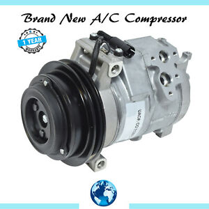 2007-2009 Dodge Sprinter 2500/3500 3.0L New Rear A/C Compressor (Single Groove)