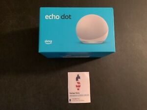 Amazon Echo Dot (4th Gen) Smart speaker with Alexa Glackier White - IN STOCK!