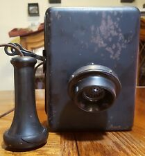 Kellogg Switchboard and Supply Co. vintage metal wall phone
