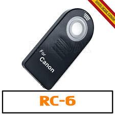 Mando a distancia inalámbrico RC-6 para Canon 100D 650D 600D 550D 60D 7D 6D 5D R