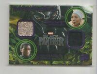 Black Panther Costume Trading Card #KD-RT Angela Bassett & Chadwick Boseman