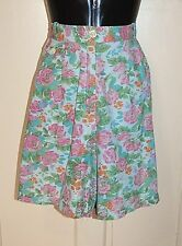 Vintage 80's SUZANNE GRAE Floral Shorts